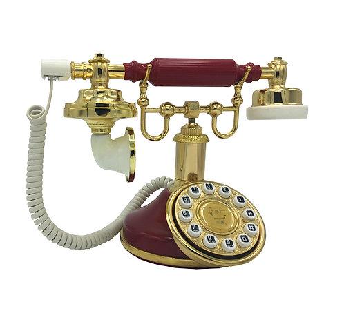 Otel Tipi Bordo Klasik Telefon