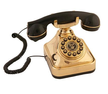 Siyah Gold Klasik Telefon