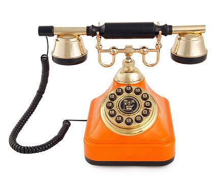 Turuncu Klasik Telefon