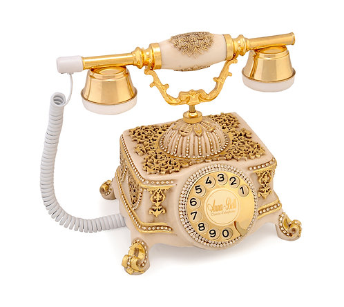 Şato Varaklı Swarovski Taşlı Telefon