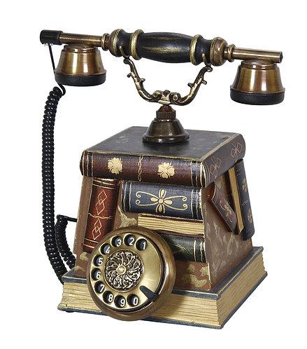 Kitap Şeklinde Antika Telefon