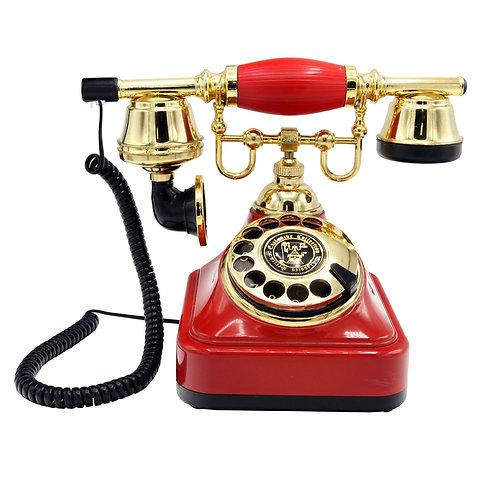 Kırmızı Klasik Telefon