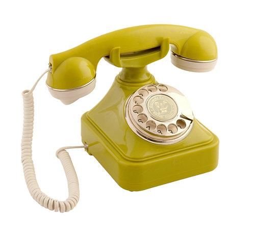 Zeytin Yeşili Klasik Telefon