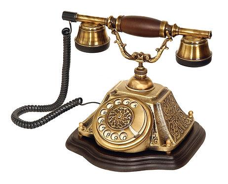Piramit Varaklı Klasik Telefon