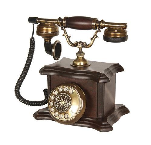 Konak Ceviz Ahşap Telefon