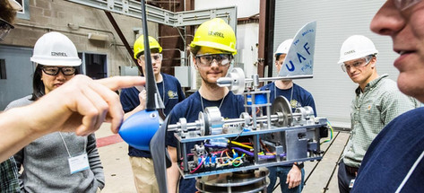 Student Team, photo by NREL