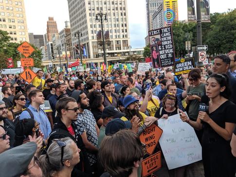 Alexandra Rojas of Justice Democrats Addresses a TYT Rally