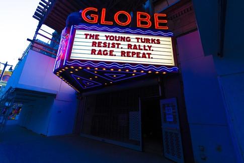 The Globe Theatre, Los Angeles, CA