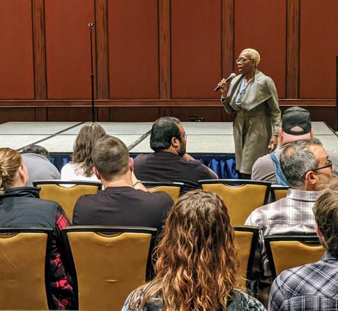 Nina Turner Addresses a TYT Rally