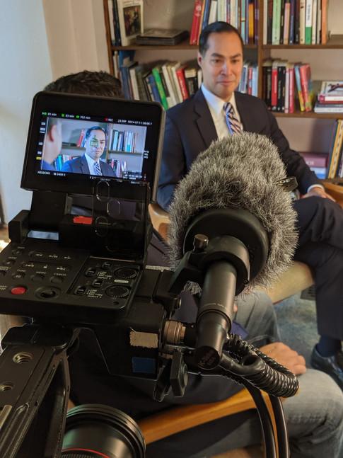 Cenk Uygur Interviews Julian Castro