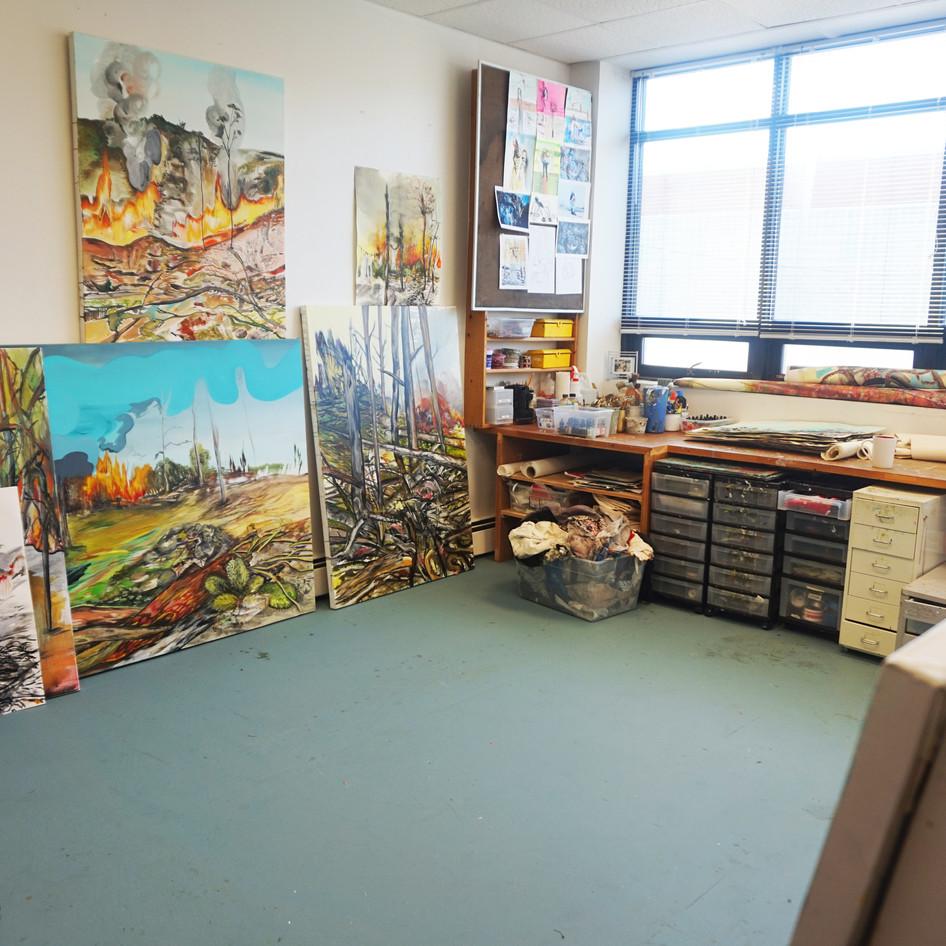 Studio view, 2020