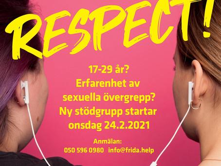 Respect! stödgrupp för 17-29 åringar