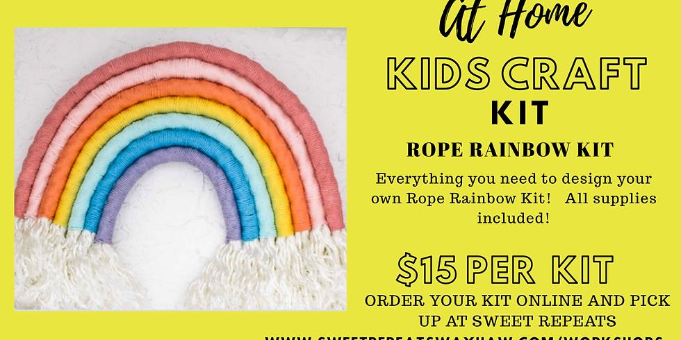 Kids At Home Rope Rainbow Kit