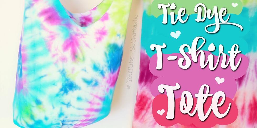 Kids Tie Dye Tshirt Tote Bag Workshop