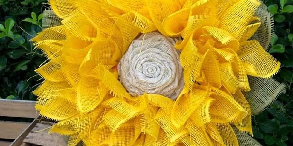 Ladies Night Out - Sunflower Wreath Making Workshop