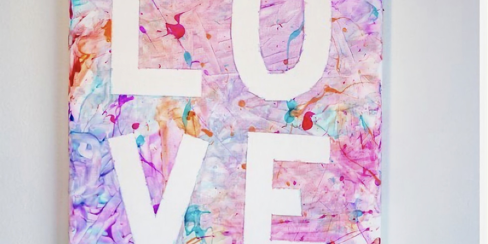 Kids LOVE canvas workshop