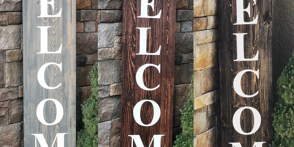 Ladies Night Out-WELCOME Porch Sign