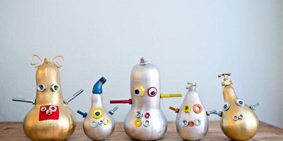 Pumpkin Monsters/Robot Workshop