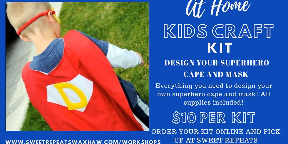 Superhero Cape and Mask kit