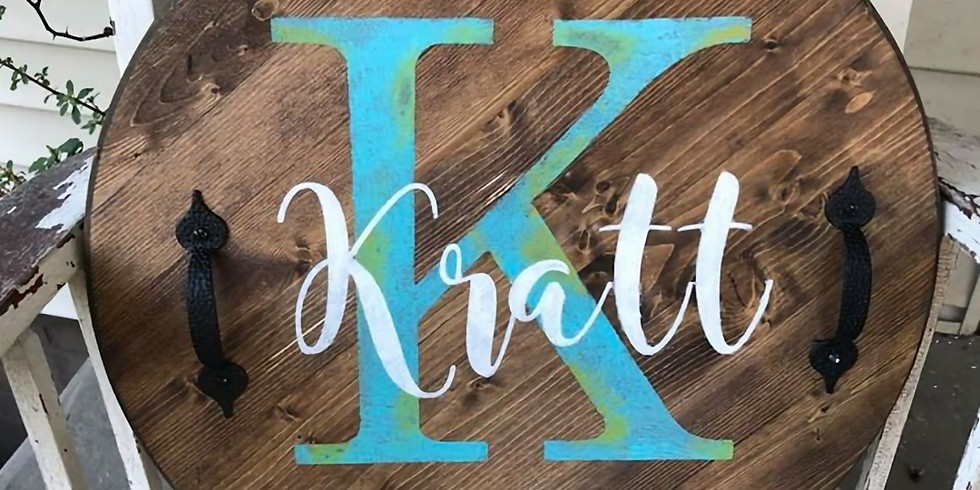 Personalized Wooden Tray Workshop - Mom's Night Out