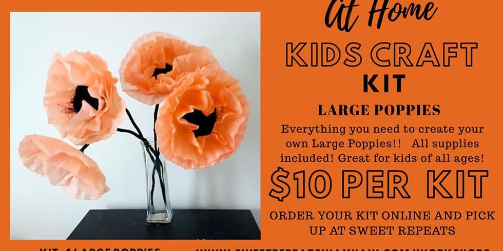 Kids At Home Poppy Flower Kit