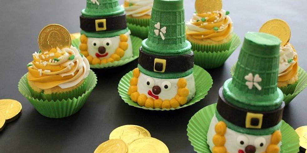 Leprechaun Cupcake Kids Workshop