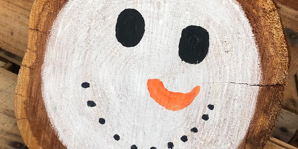 Kids Wood Slice Painting Workshop