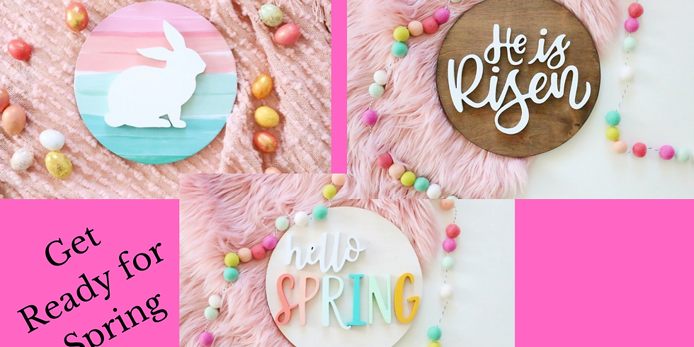 Ladies Night Out Spring Sign