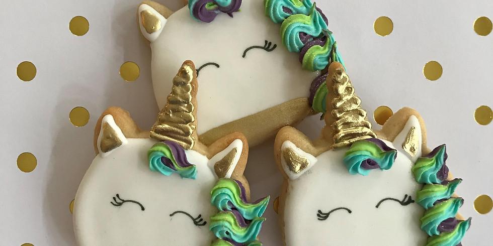 Unicorn Magic Cookie Decorating Workshop