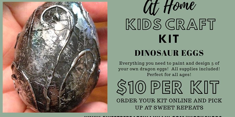 At Home Kids Dinosaur Eggs Kit