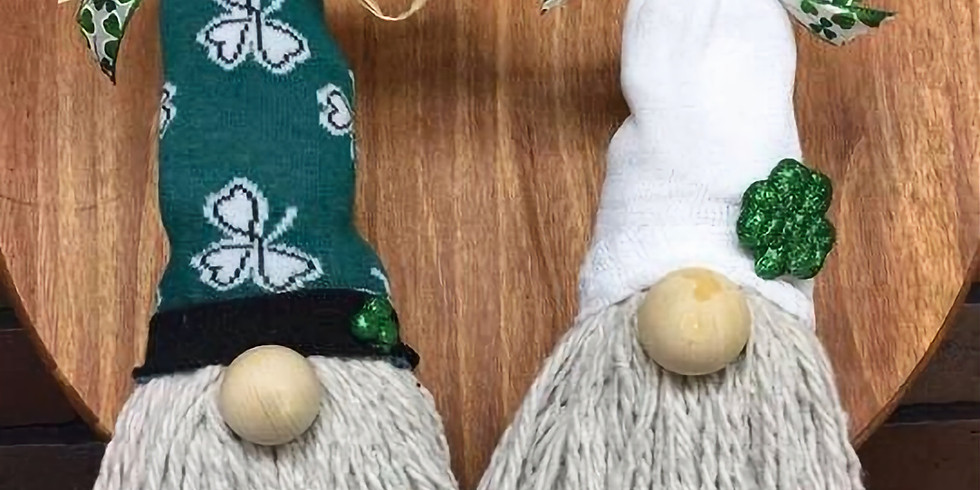 Kids St Patrick's Gnome workshop