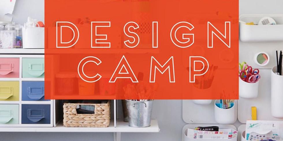 Kid's Summer Camp - Room Design Camp