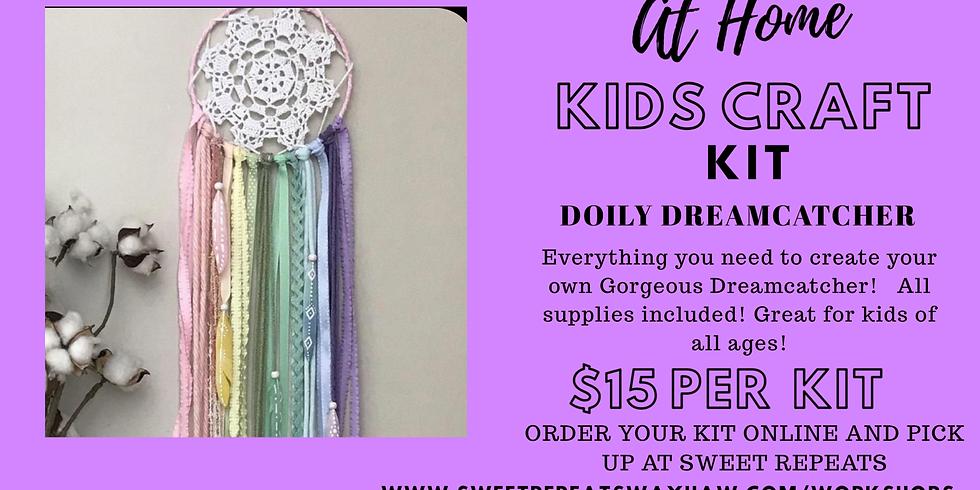 At Home Doily Dreamcatcher Kit