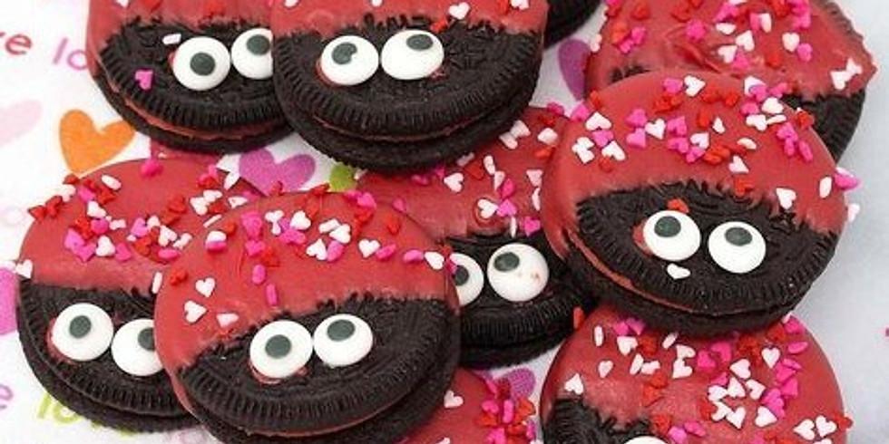 Kid's Valentine Love Bug Cookie Decorating Workshop