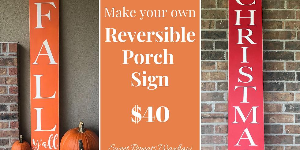 Ladies Night-Reversible Porch Sign Workshop