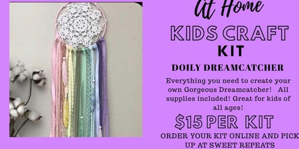 AT HOME Kids Doily Dreamcatcher Kit