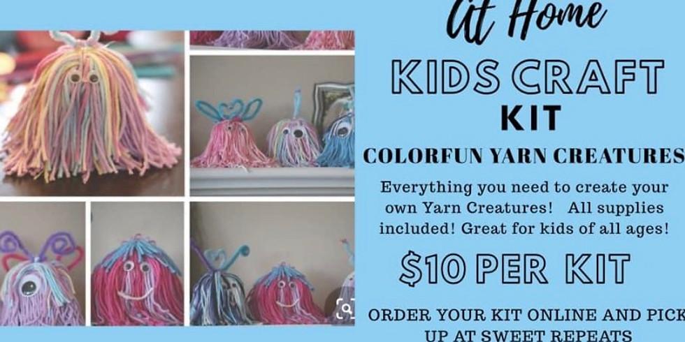 AT HOME Yarn Creatures Kit