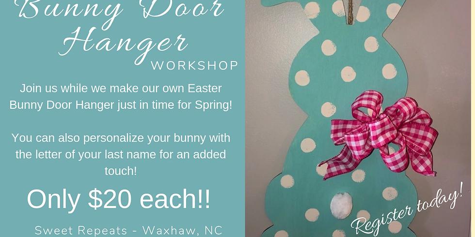 Spring Bunny Door Hanger Workshop