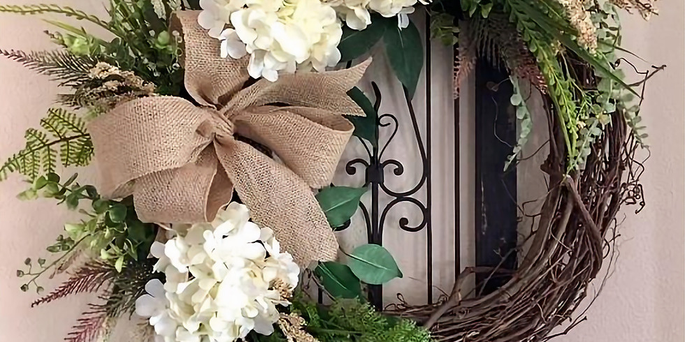 Ladies Night Out - Spring Floral Grapevine Wreath Workshop