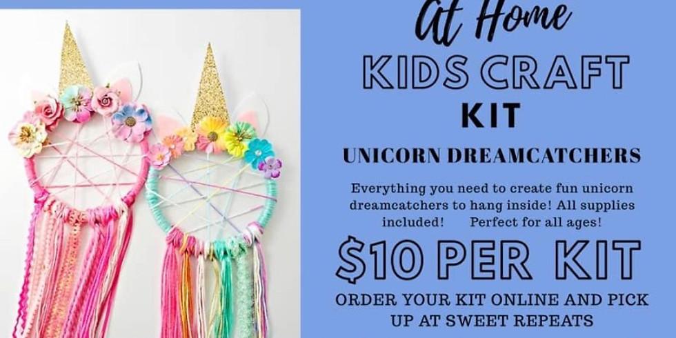 AT HOME Unicorn Dreamcatcher Kits