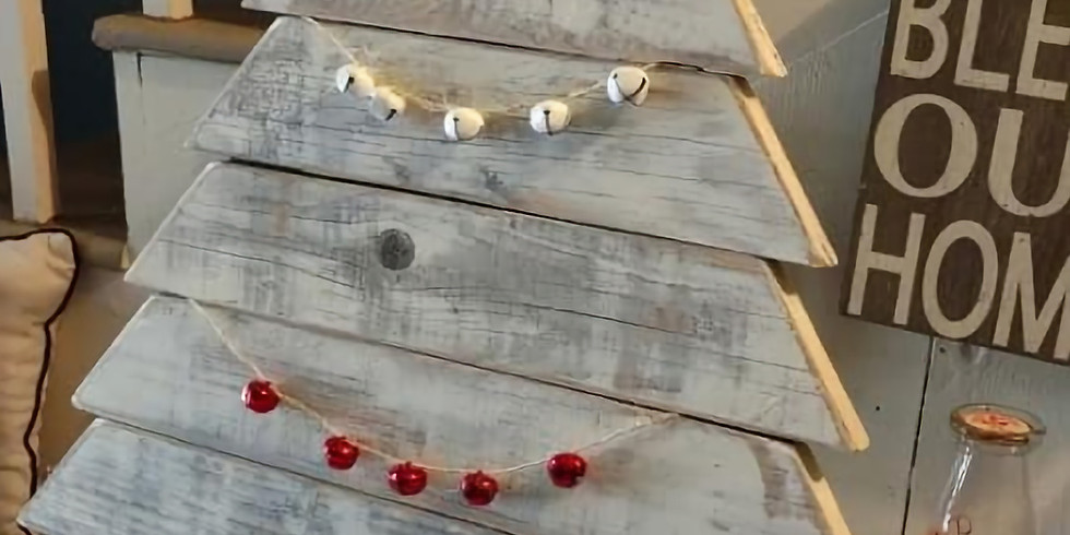 Farmhouse Christmas Tree Workshop