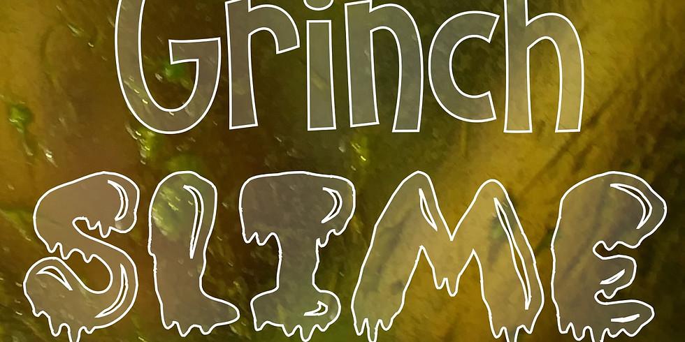 Grinch Slime Workshop