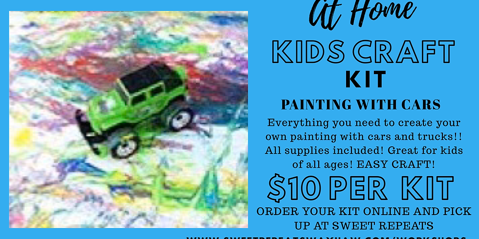 Kids At Home Car/Truck Canvas Painting