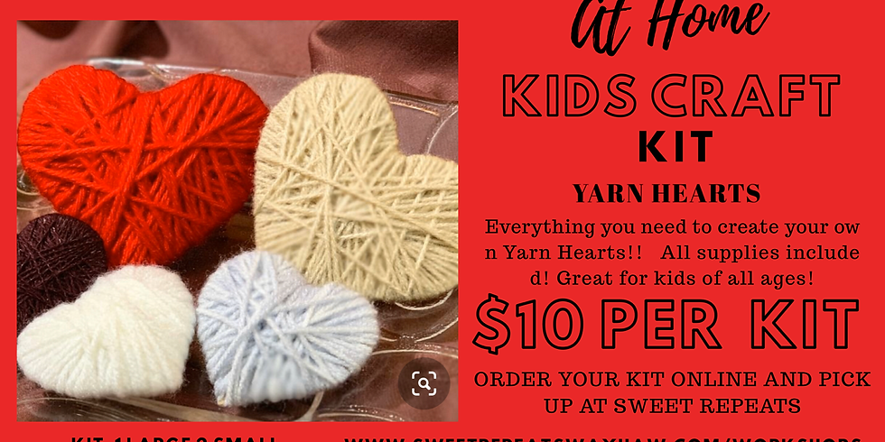 Kids At Home Yarn Heart Kit
