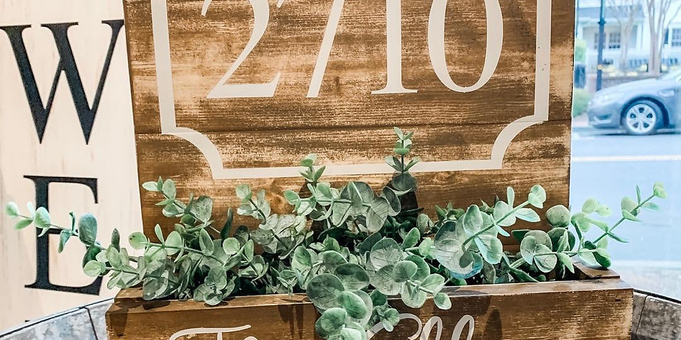 Ladies Night Out - Wooden Planter Workshop