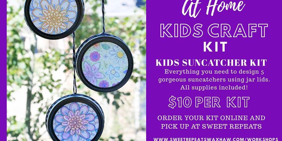 Kids At Home Suncatcher kit-Makes 5!