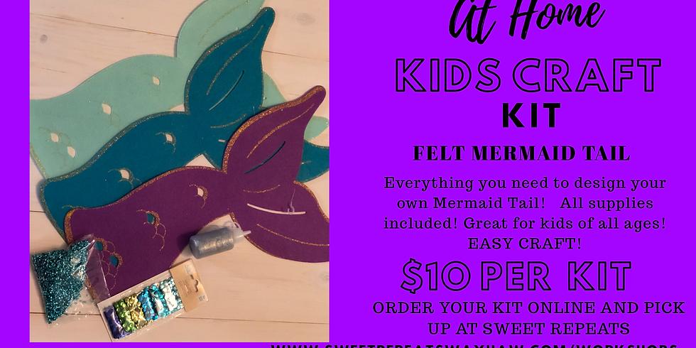 Kids at Home Felt Mermaid Tail Kit