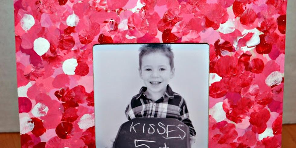 Kid's Valentine Heart Shaped Frame Workshop