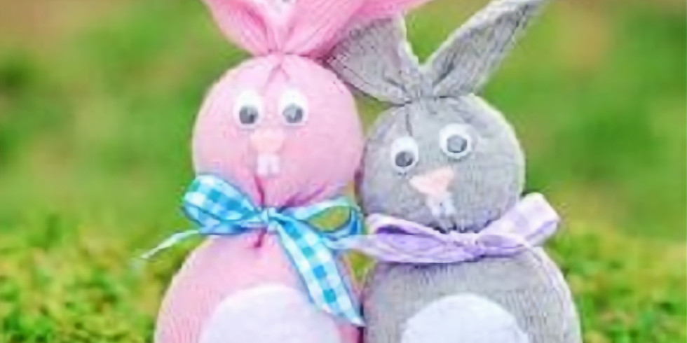 Kid's Sock Bunny Pair Workshop