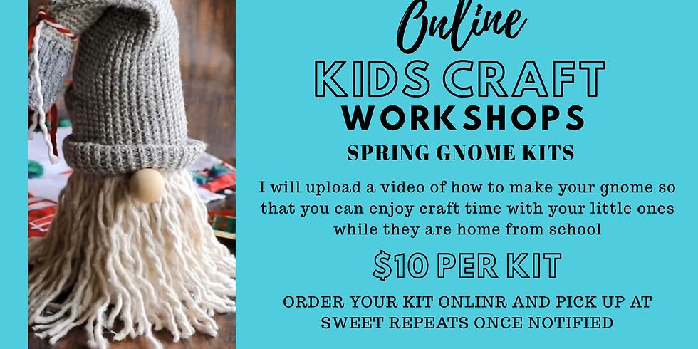Kids ONLINE Spring Gnome Kit